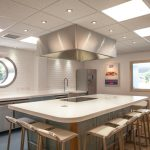 Falfish demonstration kitchen, Redruth, Cornwall