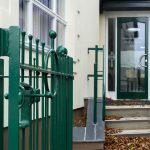 Grampound school entrance