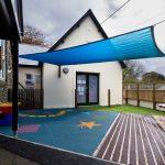 Grampound school extension and playground