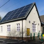 Grampound school with new windows by Gloweth
