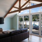 Lanmore house interior - extensions to single storey property at Lanner, Cornwall