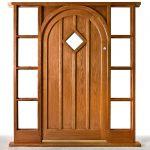 Oak door created by Gloweth joinery department