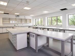 Truro College laboratory feature image