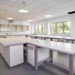 Truro College laboratory, Cornwall