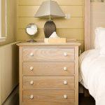 Headland hotel bespoke bedside draw cabinet by Gloweth