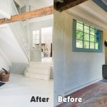 Alsia Mill - Vestibule Before and After